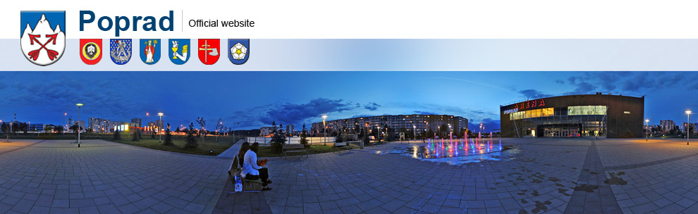 Poprad - Official website